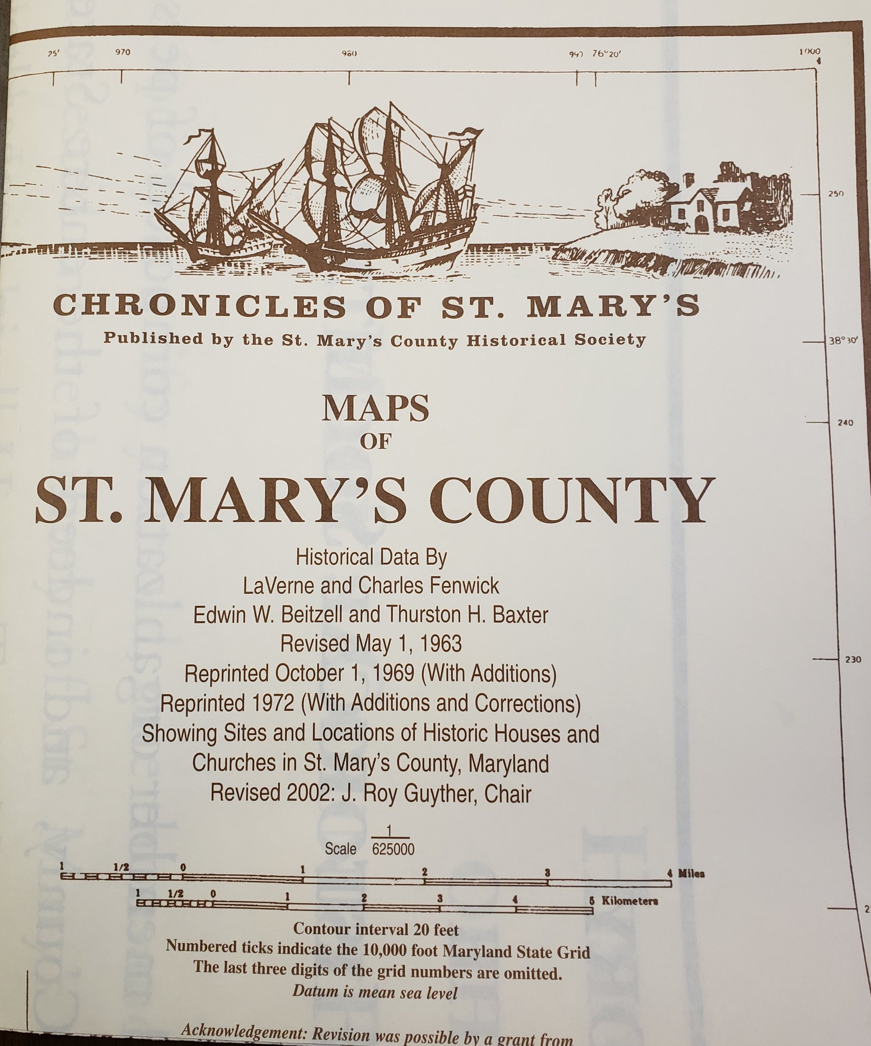 Maps of St Mary's County