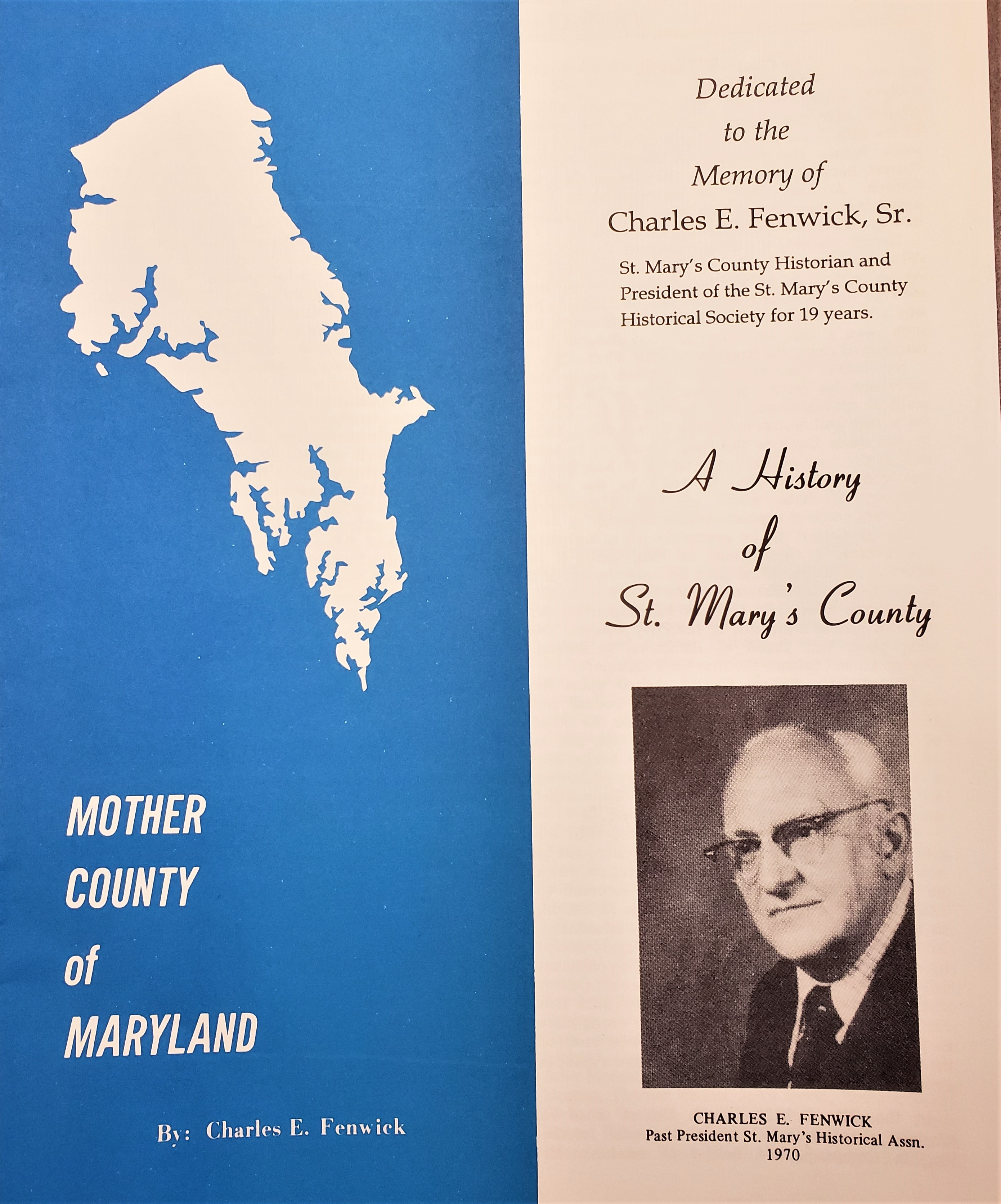 A History of St. Mary's County (Fenwick)